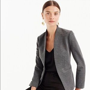 J Crew Petite Going-out Blazer in stretch twill